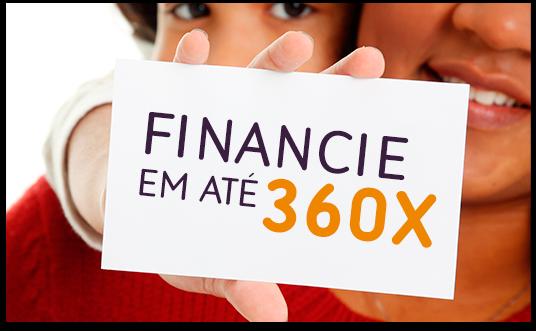 Financie em até 360x